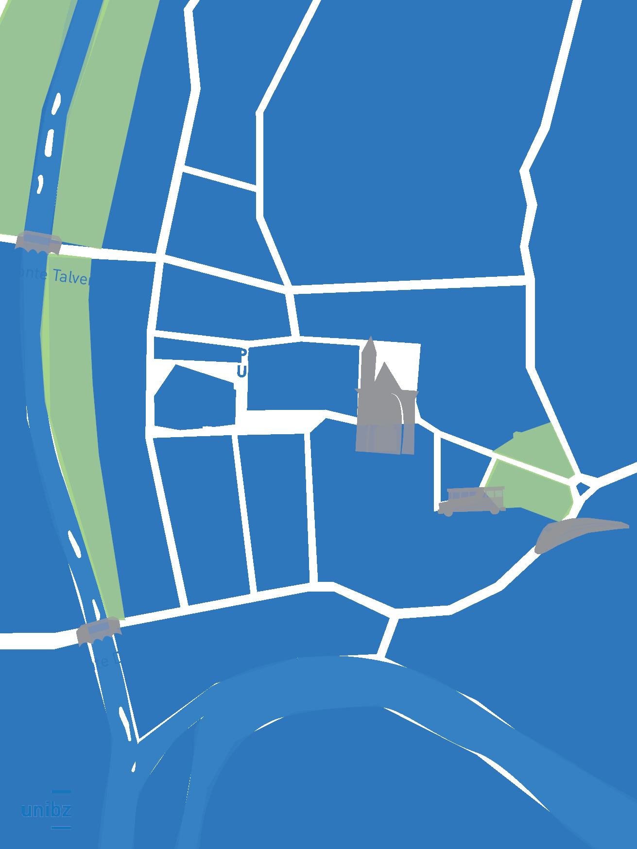 Cartografia Bolzano centro